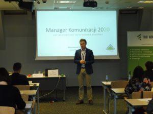 Maksymilian Pawlowski Manager komunikacji wewnętrznej